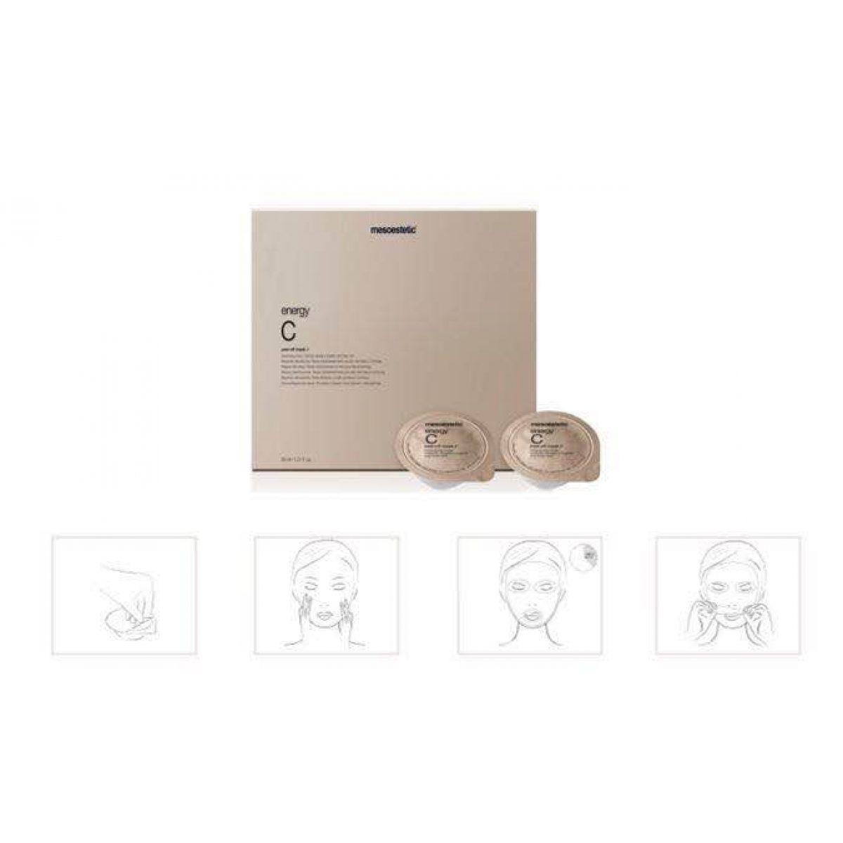 Energy C peel-off mask 5ml x 6