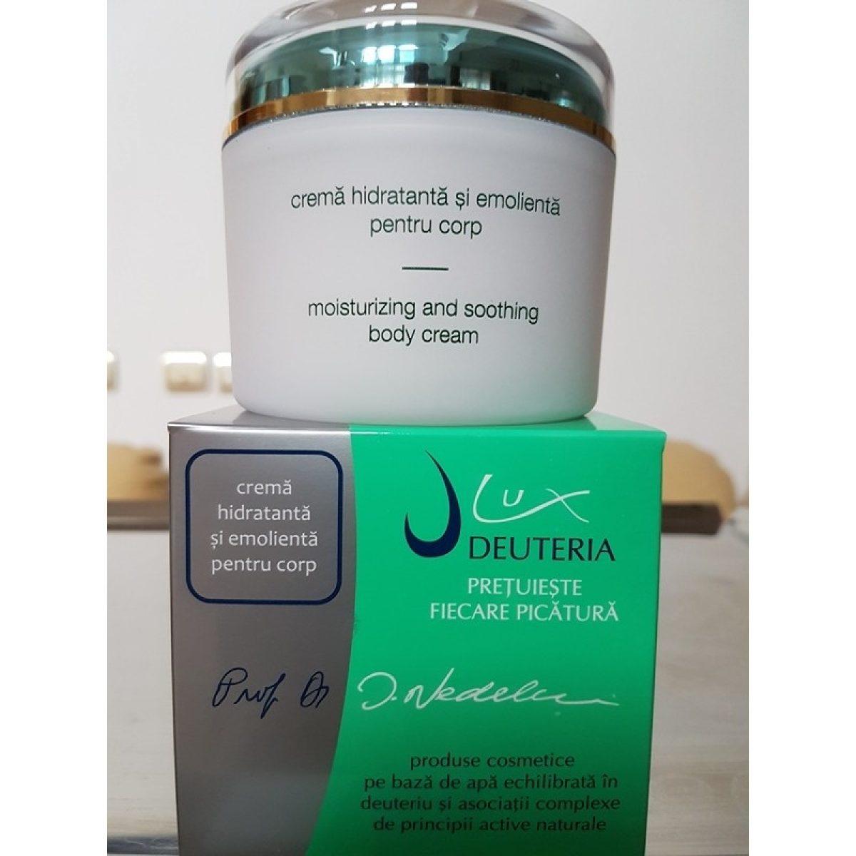 Crema hidratanta si emolienta pentru corp