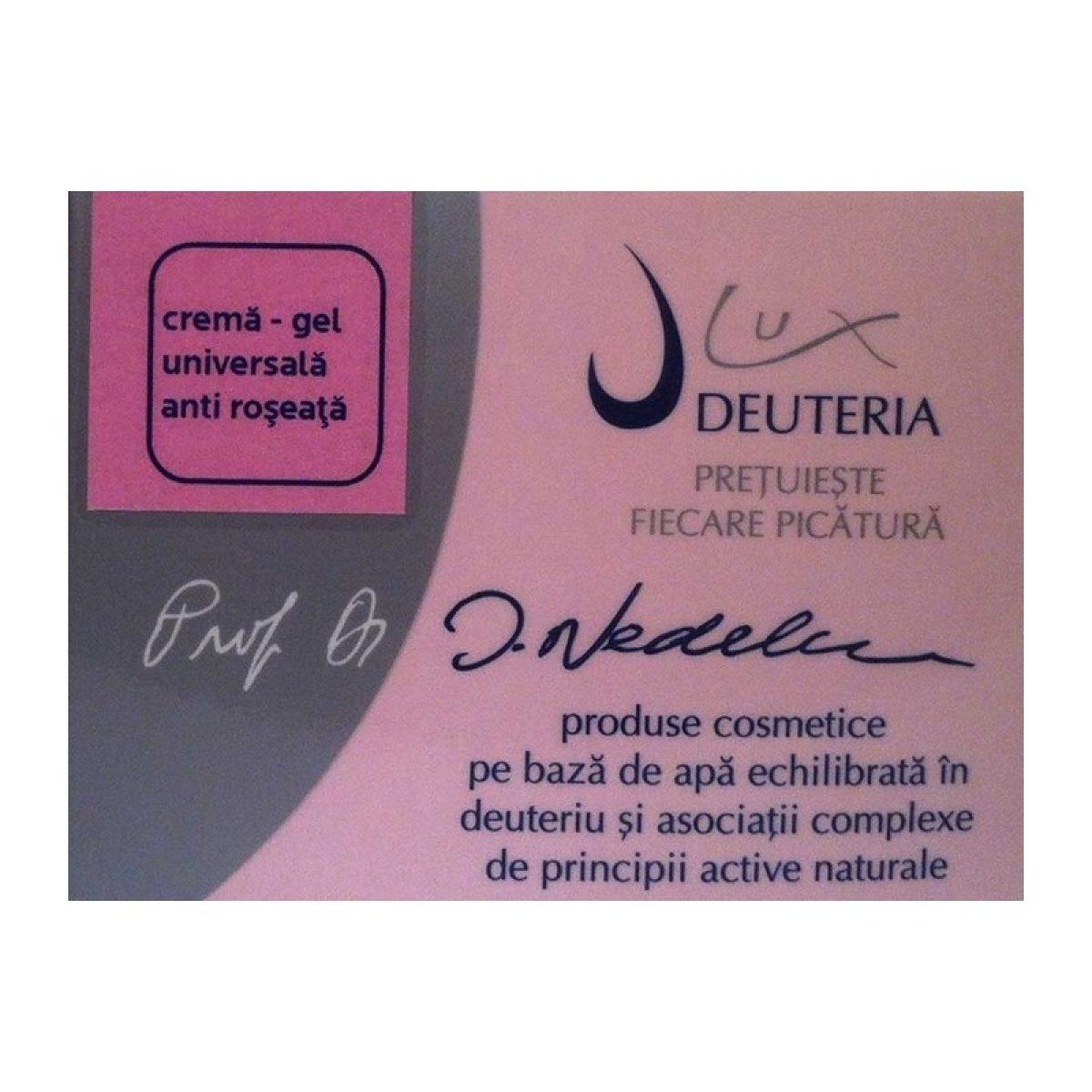 Crema-gel universala anti roseata