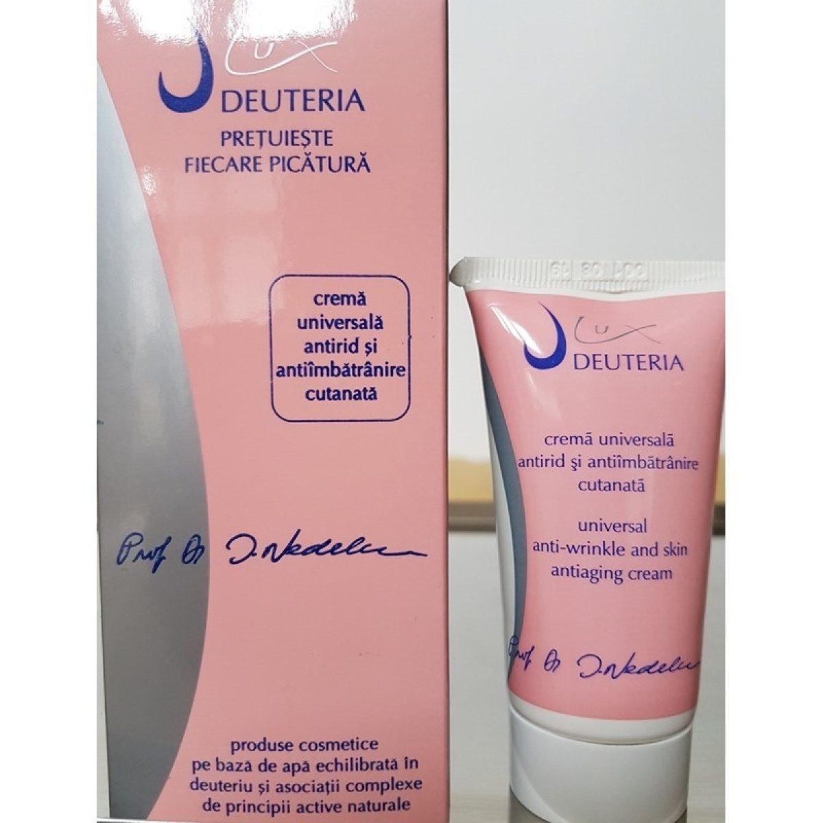 Crema universala antirid si anti imbatranire cutanata