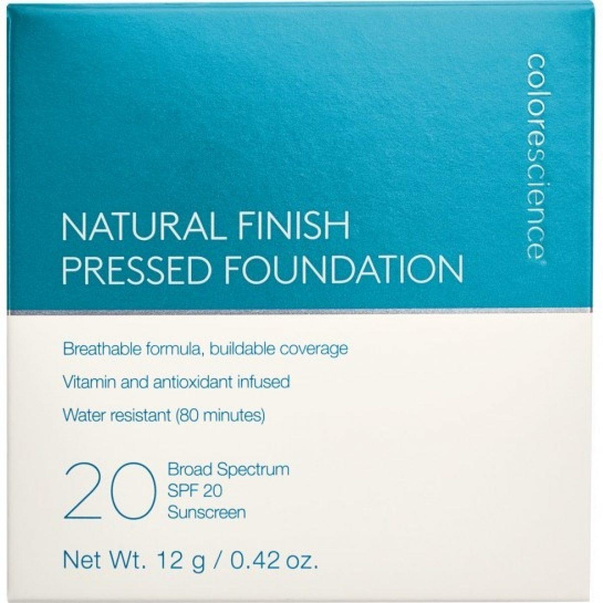 Natural Finish Pressed Foundation SPF 20