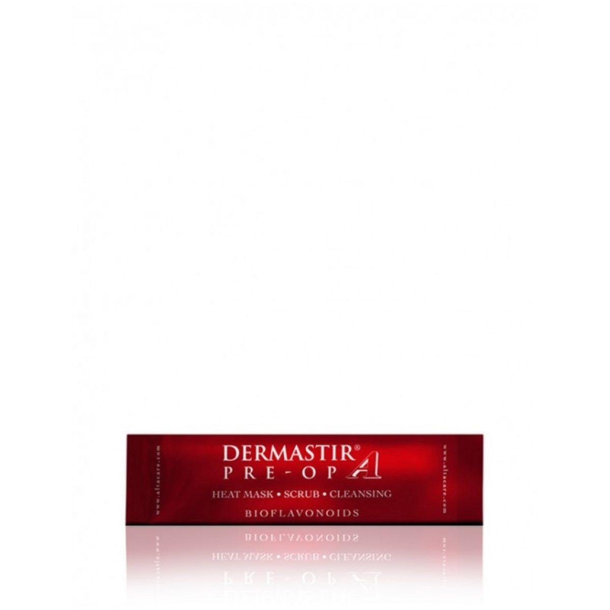 Dermastir Pre - Op masca exfolianta termoactiva pentru curatarea porilor si redarea luminozitatii tenului