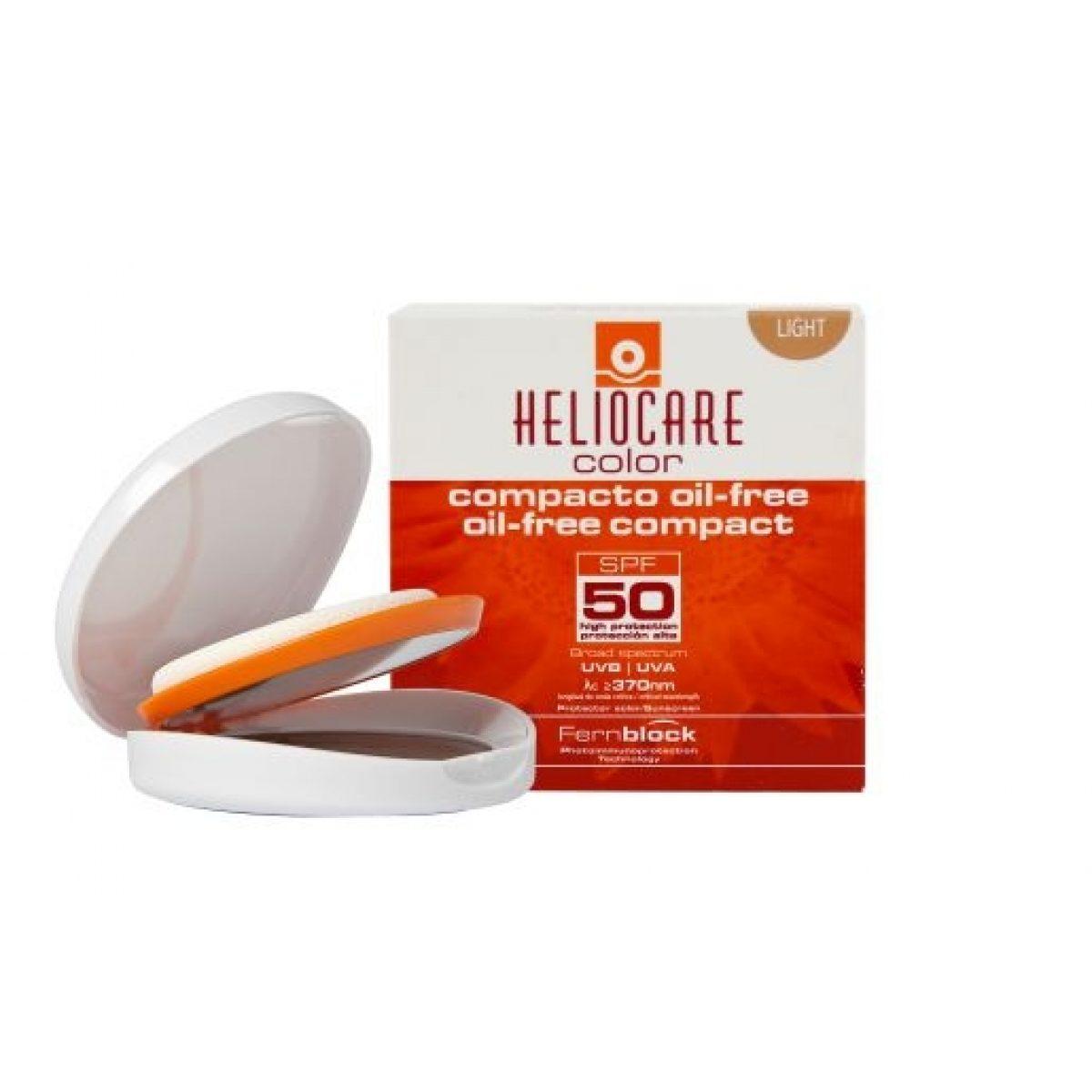 HELIOCARE COLOR COMPACT OIL-FREE LIGHT SPF50