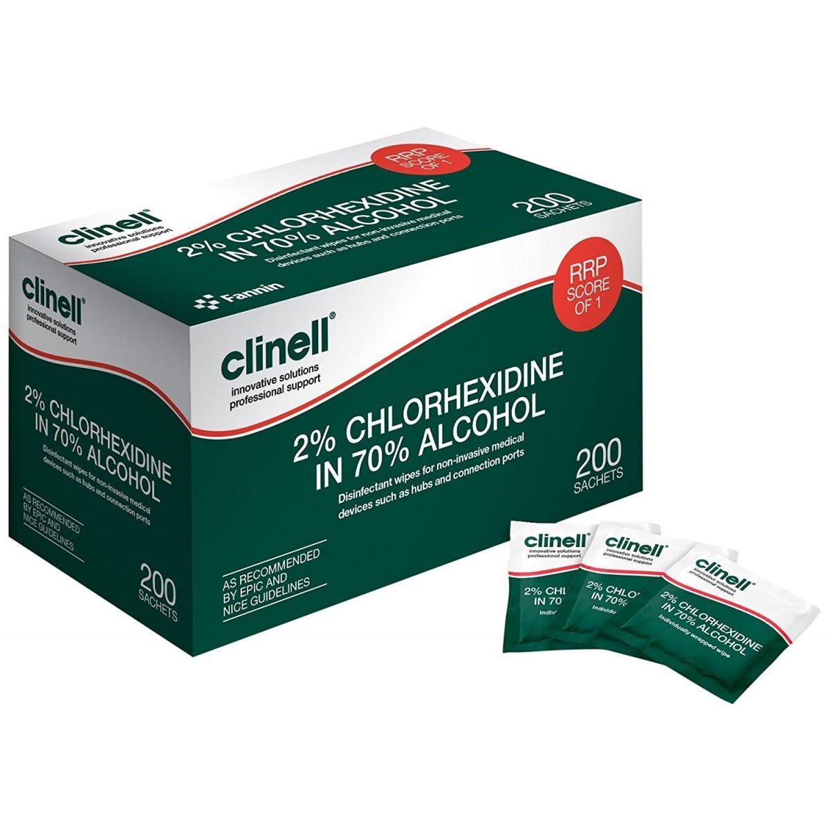 240 buc. - Dezinfectant Clinell - lavete dezinfectante