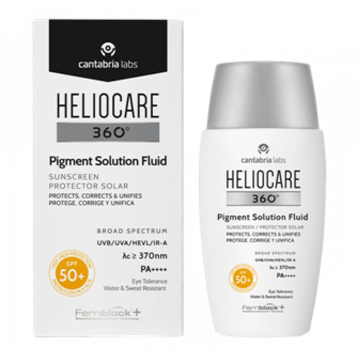 HELIOCARE 360 PIGMENT SOLUTION FLUID PROTECTIE SOLARA SPF50+
