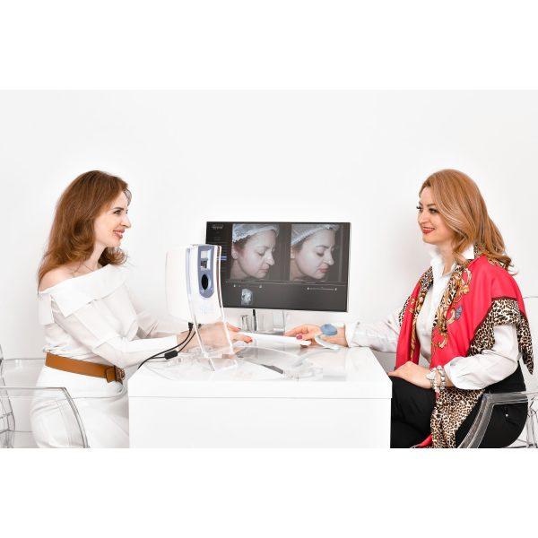 Screening digital al pielii cu Visia Canfield